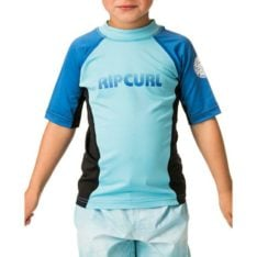 Rip Curl Grom Undertow Short Sleeve Uvt Blue. Rip Curl Rashvests found in Toddlers Rashvests & Toddlers Wetsuits. Code: WLY7BO