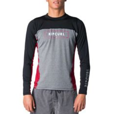 Rip Curl Underline Relaxed Long Sleeve Uvt Burnt Red. Rip Curl Rashvests found in Mens Rashvests & Mens Wetsuits. Code: WLY7OM