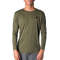 Rip Curl Search Surflite L/sl Uvt Military Green. Rip Curl Rashvests found in Mens Rashvests & Mens Wetsuits. Code: WLY7QM