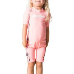 Rip Curl Mini Short Sleeve Uv Spring Peach. Rip Curl Rashvests found in Toddlers Rashvests & Toddlers Wetsuits. Code: WLY8CF