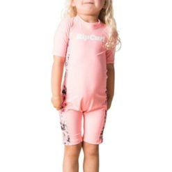 Rip Curl Mini Ss Uv Spring Peach. Rip Curl Rashvests found in Toddlers Rashvests & Toddlers Wetsuits. Code: WLY8CF