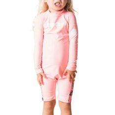 Rip Curl Mini Long Sleeve Uv Spring Peach. Rip Curl Rashvests found in Toddlers Rashvests & Toddlers Wetsuits. Code: WLY8DF