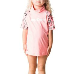Rip Curl Mini Anak Short Sleeve Uv Peach. Rip Curl Rashvests found in Toddlers Rashvests & Toddlers Wetsuits. Code: WLY8FF