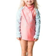 Rip Curl Mini Palm Dreams Long Sleeve Uv Peach. Rip Curl Rashvests found in Toddlers Rashvests & Toddlers Wetsuits. Code: WLY8GF
