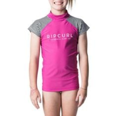 Rip Curl Girls Breaker Cap/sl Uv Pink. Rip Curl Rashvests in Girls Rashvests & Girls Wetsuits. Code: WLY8HJ