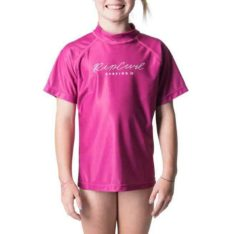 Rip Curl Junior Girl Rosewood Short Sleeve Pink. Rip Curl Rashvests found in Girls Rashvests & Girls Wetsuits. Code: WLY8MJ