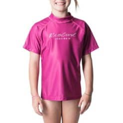 Rip Curl Jnr Girl Rosewood Short Sleeve Pink. Rip Curl Rashvests found in Girls Rashvests & Girls Wetsuits. Code: WLY8MJ