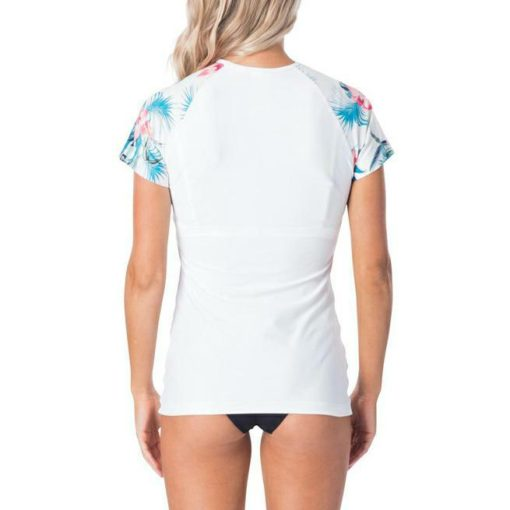 Rip Curl Cloud Break Relaxed S/sl White. Rip Curl Rashvests found in Womens Rashvests & Womens Wetsuits. Code: WLY8UW