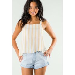 Rusty Crowns Cami Honey. Rusty Fashion Tops found in Womens Fashion Tops & Womens Tops. Code: WSL0591