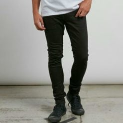 Volcom 2x4 Tapered Skinny Fit 12 Black On Black. Volcom Jeans found in Mens Jeans & Mens Pants & Jeans. Code: A1931610