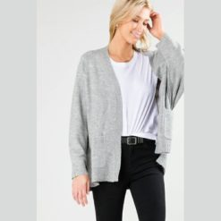 Rusty Together Cardigan Grey Marle. Rusty Knitwears found in Womens Knitwears & Womens Jackets, Jumpers & Knits. Code: CKL0356