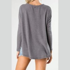 Rusty Maple Cardigan Charcoal. Rusty Tees found in Womens Tees & Womens Tops. Code: FSL0546