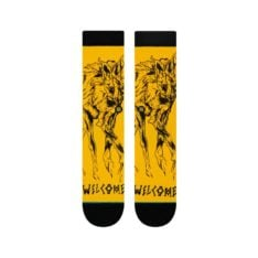 Stance Welcome Wolves Socks Black. Stance Socks, Underwear, Pyjamas found in Mens Socks, Underwear, Pyjamas & Mens Footwear. Code: M556B19WEL