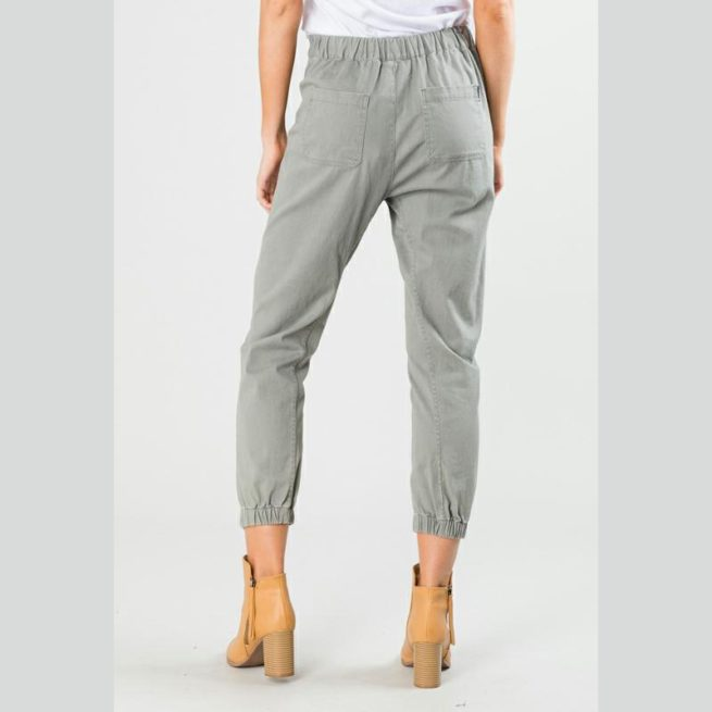 Rusty Hooky Pant Army. Rusty Pants found in Womens Pants & Womens Pants & Jeans. Code: PAL0868