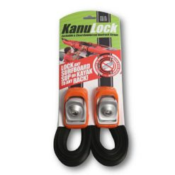 Kanulock Spt 3.3m Lockable Tiedown Ass. Kanulock Auto Roof Racks found in Boardsports Auto Roof Racks & Boardsports Surf. Code: SPT3300