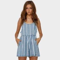 Billabong Cabo Capri Playsuit Blu. Billabong Dresses in Womens Dresses & Womens Skirts, Dresses & Jumpsuits. Code: 6591506