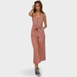 Billabong Crossfire Stripe Jumpsuit Gin. Billabong Dresses found in Womens Dresses & Womens Skirts, Dresses & Jumpsuits. Code: 6591512