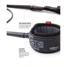 """Ocean And Earth All Round Comp 6""""0 One Xt Blk. Ocean And Earth Legropes in Boardsports Legropes & Boardsports Surf. Code: LC60XT"""