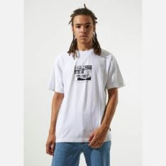 Afends No Music Tee White. Afends Tees found in Mens Tees & Mens T-shirts & Singlets. Code: M193001