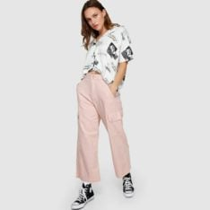 Rvca Lox Pant Rose Blush. Rvca Pants found in Womens Pants & Womens Pants & Jeans. Code: R291271