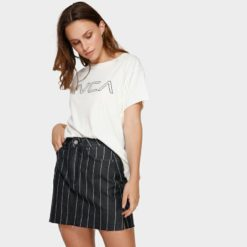 Rvca Rowdy Mini Skirt Baj. Rvca Skirts found in Womens Skirts & Womens Skirts, Dresses & Jumpsuits. Code: R491832