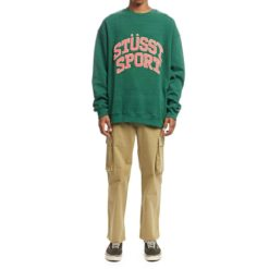 Stussy Stussy Sport Crew Bottle Green. Stussy Sweats found in Mens Sweats & Mens Jackets, Jumpers & Knits. Code: ST091203