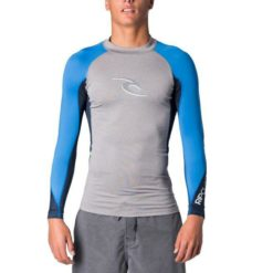 Rip Curl Wave L/sl Uv Tee Light Grey Heather. Rip Curl Rashvests found in Mens Rashvests & Mens Wetsuits. Code: WLU8AM
