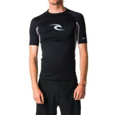 Rip Curl Wave Short Sleeve Uv Tee Black. Rip Curl Rashvests found in Mens Rashvests & Mens Wetsuits. Code: WLU8BM