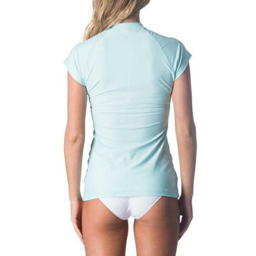 Rip Curl Belle Cap/sl F/zip Uvt Light Blue. Rip Curl Rashvests found in Womens Rashvests & Womens Wetsuits. Code: WLY7AW