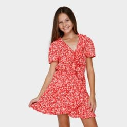 Billabong Poppy Floral Wrap Dress Gnd. Billabong Dresses found in Girls Dresses & Girls Skirts, Dresses & Jumpsuits. Code: 5591472