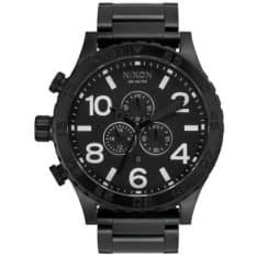 Nixon 51-30 Chronograph Matte Black All Black. Nixon Watches found in Mens Watches & Mens Watches. Code: A0833086