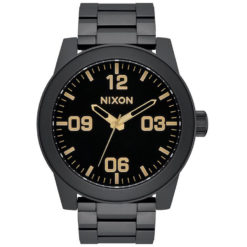Nixon Corporal Stainless Steel Matte Black Gold Matte Black/gold. Nixon Watches found in Mens Watches & Mens Watches. Code: A3461041
