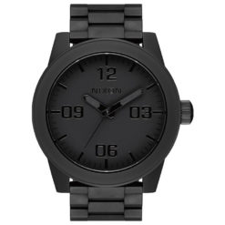 Nixon Corporal Stainless Steel Matte Black Polished Black Matte Black Pol Blk. Nixon Watches found in Mens Watches & Mens Watches. Code: A3463256