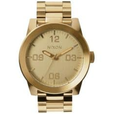 Nixon Corporal Stainless Steel All Gold All Gold. Nixon Watches found in Mens Watches & Mens Watches. Code: A346502