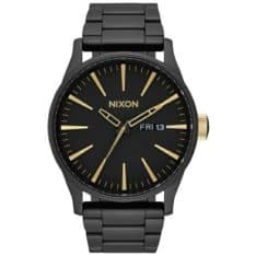 Nixon Sentry Stainless Steel Matte Black Gold Mtblk. Nixon Watches found in Mens Watches & Mens Watches. Code: A3561041