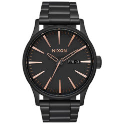 Nixon Sentry Stainless Steel Black Rose Gold All Black / Rose Gol. Nixon Watches found in Mens Watches & Mens Watches. Code: A356957