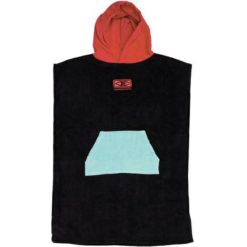 Ocean And Earth Youth Hooded Poncho Red. Ocean And Earth Towels - Hooded found in Boys Towels - Hooded & Boys Accessories. Code: ABTW06
