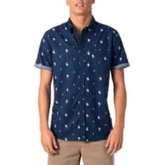 Rip Curl Palm Days Short Sleeve Shirt Navy. Rip Curl Shirts - Short Sleeve in Mens Shirts - Short Sleeve & Mens Shirts. Code: CSHMJ1