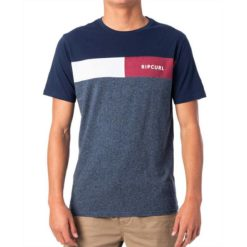 Rip Curl Undertow Panel Tee Navy Marle. Rip Curl Tees found in Mens Tees & Mens T-shirts & Singlets. Code: CTESG2