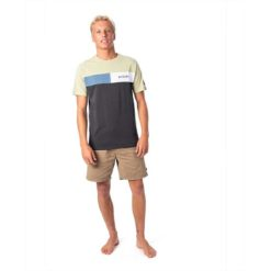 Rip Curl Undertow Panel Tee Washed Olive. Rip Curl Tees found in Mens Tees & Mens T-shirts & Singlets. Code: CTESG2