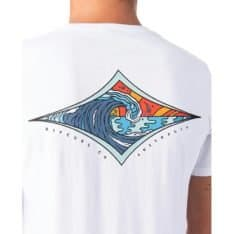 Rip Curl Hazed Diamond Tee White. Rip Curl Tees found in Mens Tees & Mens T-shirts & Singlets. Code: CTESJ2