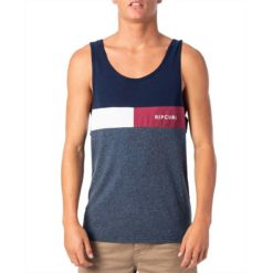 Rip Curl Undertow Panel Tank Navy. Rip Curl Singlets & Tanks found in Mens Singlets & Tanks & Mens T-shirts & Singlets. Code: CTESN2