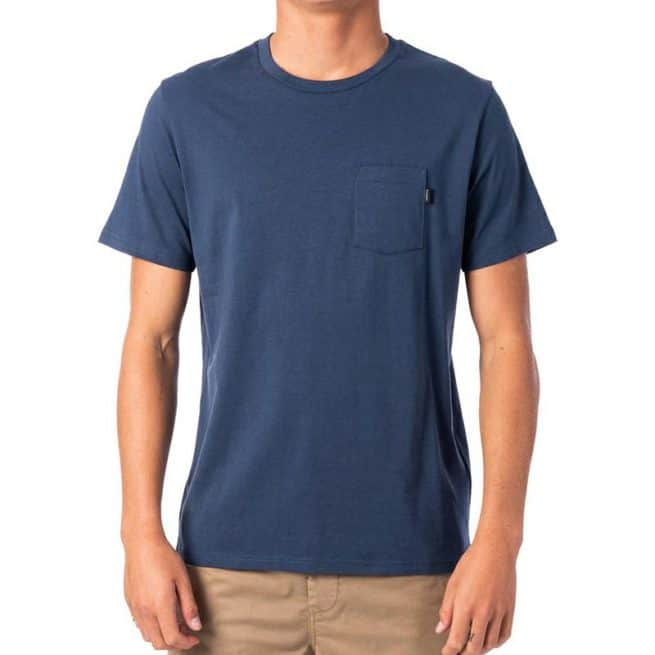 Rip Curl Plain Pocket Tee Navy. Rip Curl Tees found in Mens Tees & Mens T-shirts & Singlets. Code: CTESY2