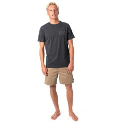 Rip Curl Easy Valley Tee Black Marle. Rip Curl Tees found in Mens Tees & Mens T-shirts & Singlets. Code: CTETB2