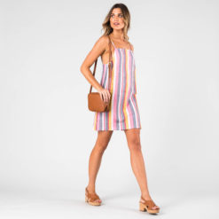 Rusty Troublemaker Stripe Dress Blush. Rusty Dresses found in Womens Dresses & Womens Skirts, Dresses & Jumpsuits. Code: DRL0998