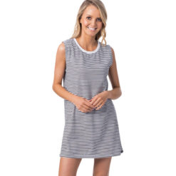 Rip Curl Essentials Tank Dress Black/white. Rip Curl Dresses found in Womens Dresses & Womens Skirts, Dresses & Jumpsuits. Code: GDRHT1