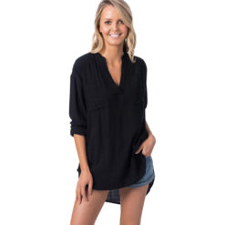Rip Curl Koa Ii Beach Shirt Black. Rip Curl Shirts - Short Sleeve found in Womens Shirts - Short Sleeve & Womens Shirts. Code: GSHFQ1