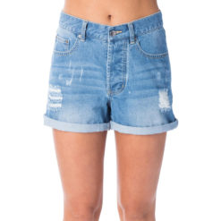 Rip Curl Vixen Denim Short Blue. Rip Curl Walkshorts - Fitted Waist found in Womens Walkshorts - Fitted Waist & Womens Shorts. Code: GWAEQ1