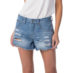 Rip Curl Sophie Denim Short Ii Blue. Rip Curl Walkshorts - Fitted Waist found in Womens Walkshorts - Fitted Waist & Womens Shorts. Code: GWAFL1