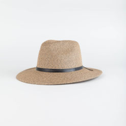 Rusty Gisele Straw Hat Black / Caramel. Rusty Hats & Caps found in Womens Hats & Caps & Womens Headwear. Code: HHL0398